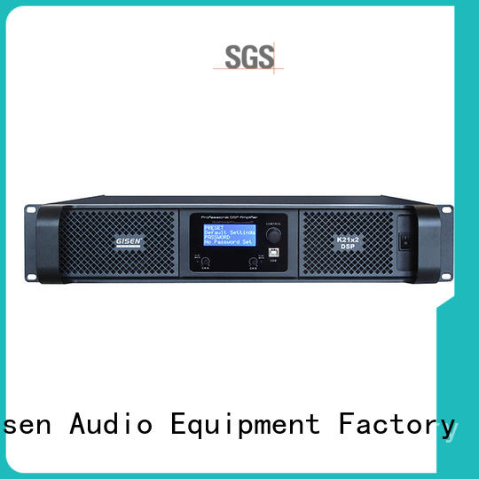 Gisen dsp homemade audio amplifier manufacturer for stage