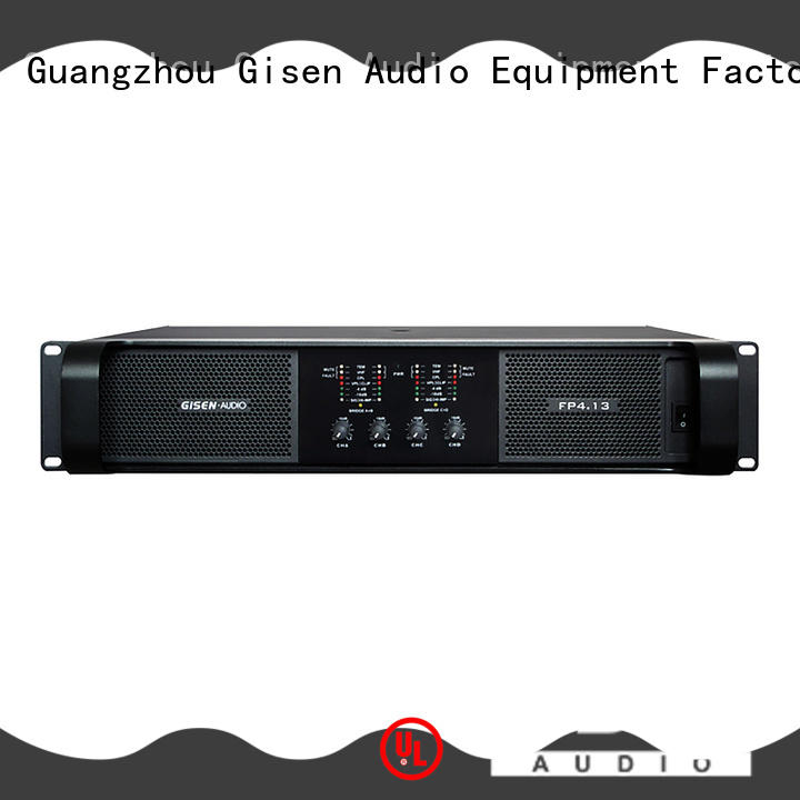 Gisen power high power audio amplifier one-stop service supplier for ktv