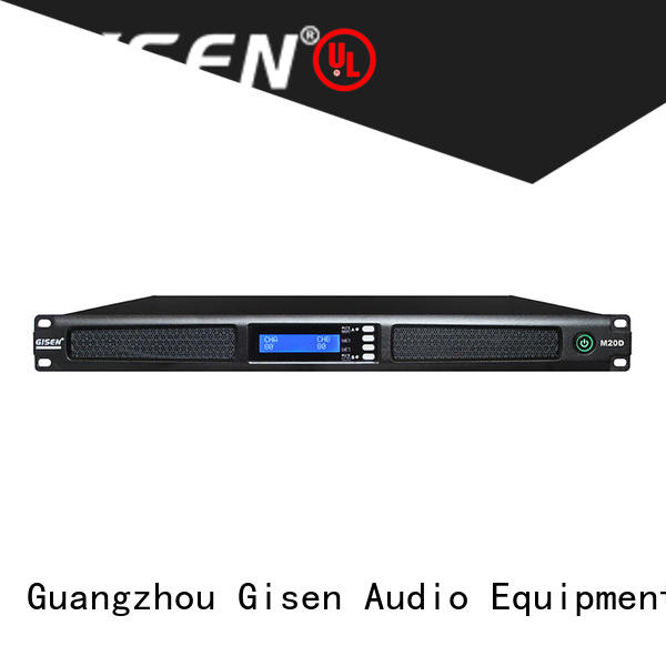 4 channel digital amplifier digital for venue Gisen