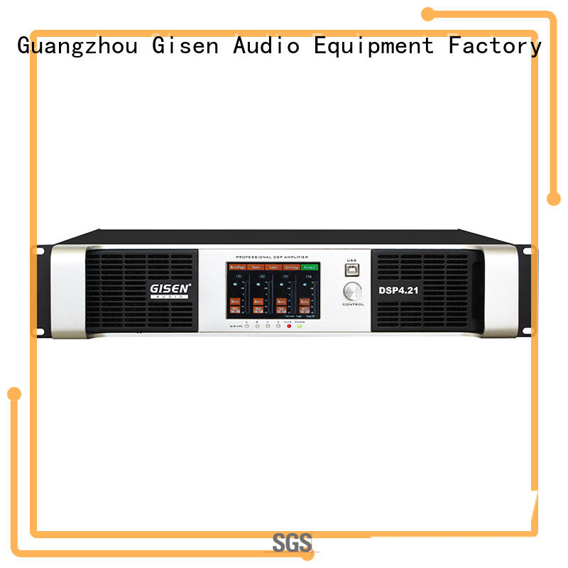 2100wx4 amplifier sound system supplier for various occations Gisen
