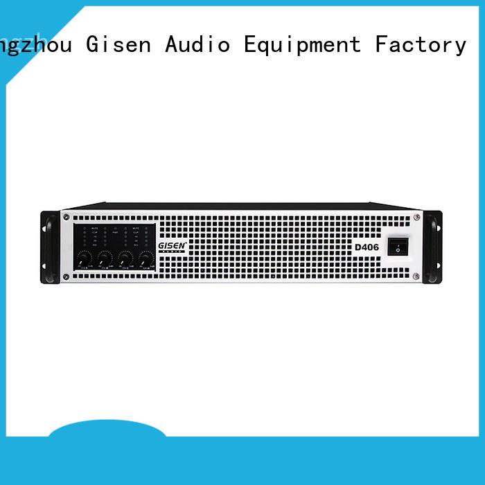 Gisen advanced home stereo power amplifier manufacturer for entertaining club