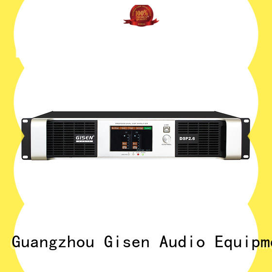 Gisen professional audio amplifier pro supplier for stage