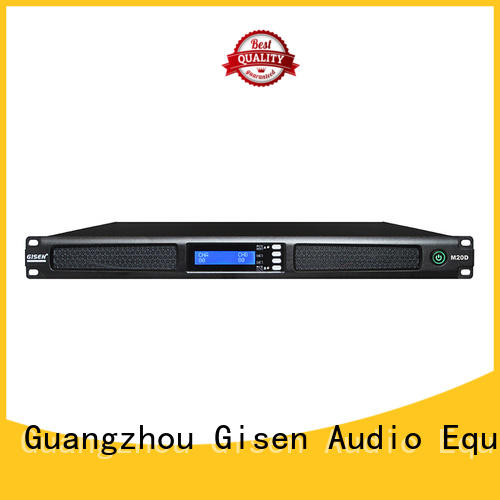 class digital stereo amplifier 1u for entertainment club Gisen
