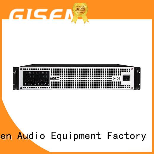 Gisen guangzhou best class d amplifier supplier for ktv
