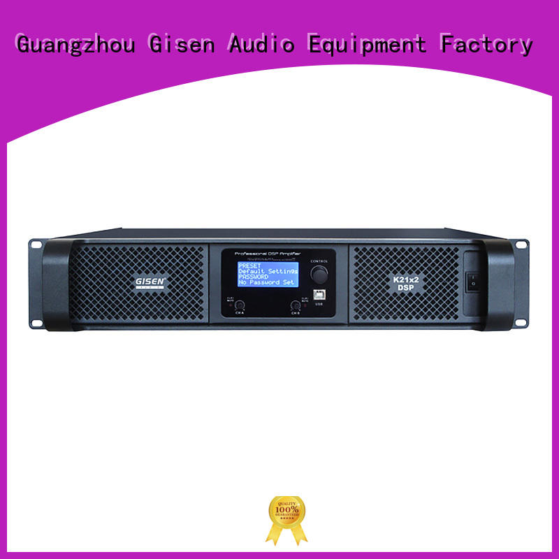 high quality multi channel amplifier touch screen wholesale for performance