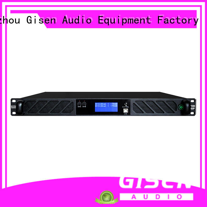 Gisen 1u desktop audio amplifier wholesale