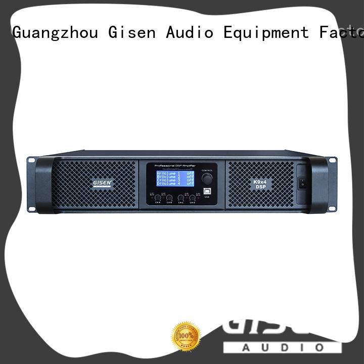 Gisen dsp best power amplifier in the world wholesale for various occations
