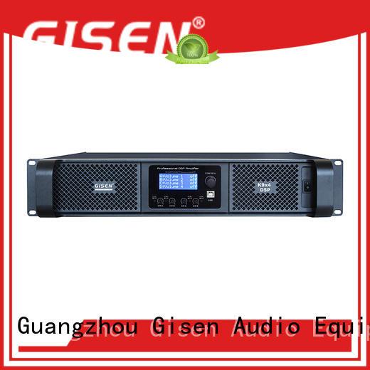 Gisen professional slimline amplifier 2100wx2