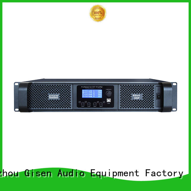 high quality desktop audio amplifier dsp supplier for stage