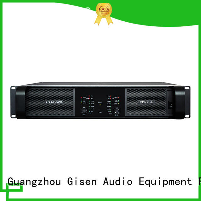 Gisen power compact stereo amplifier source now for vocal concert