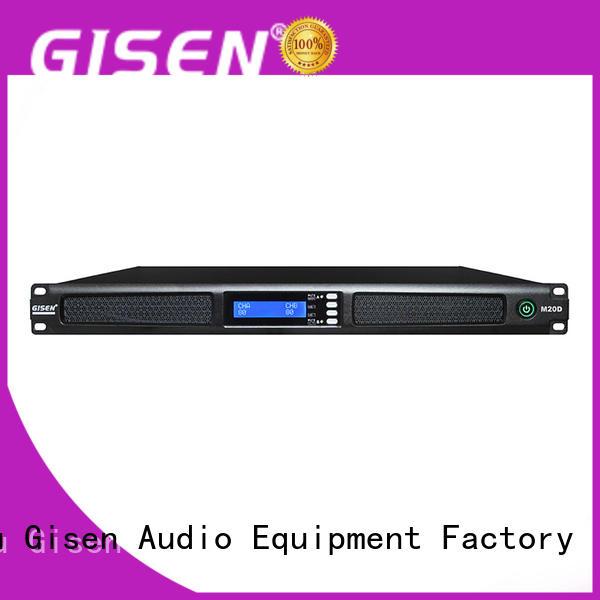 Gisen new model digital amplifier supplier for performance