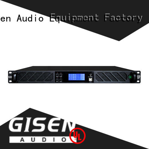 Gisen high quality desktop audio amplifier wholesale for stage