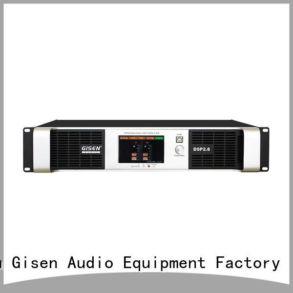 professional dsp power amplifier amplifier factory for venue