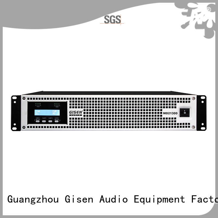 Gisen competitive price best surround sound amp sale price for vocal concert