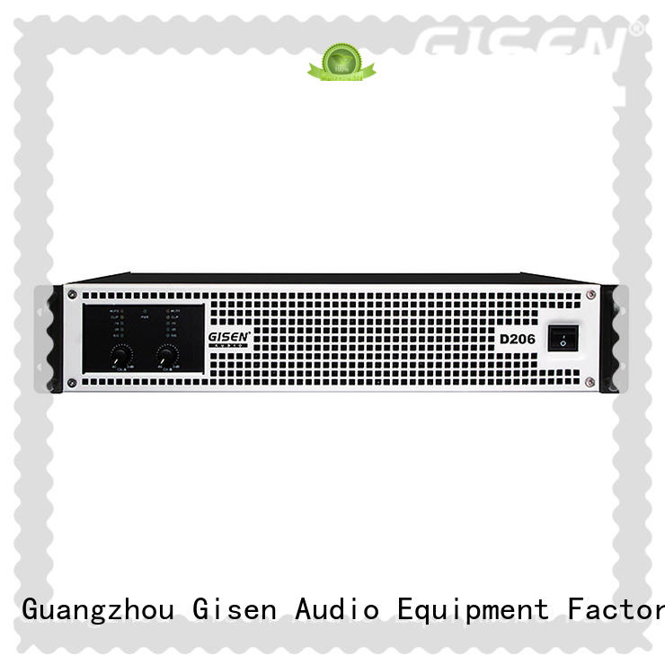 Gisen high efficiency high power class d amplifier professional for meeting