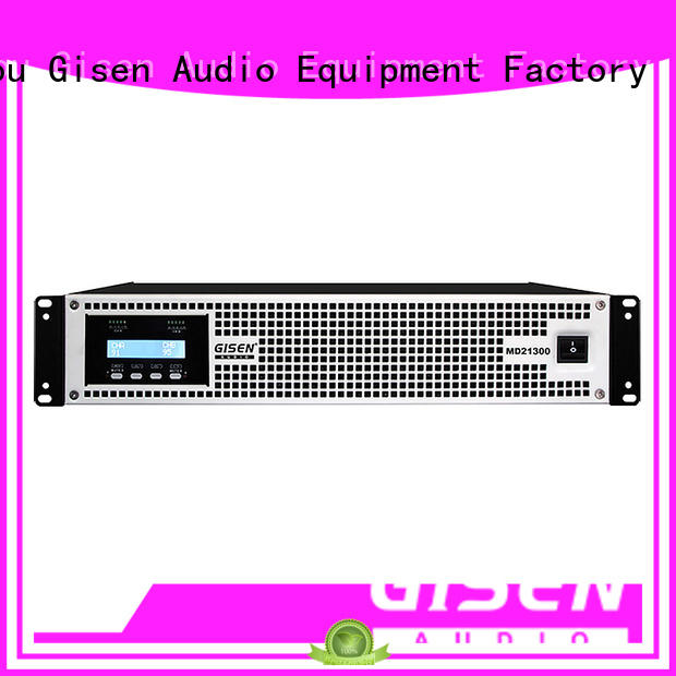 Gisen competitive price toroidal power amplifier sale price for meeting