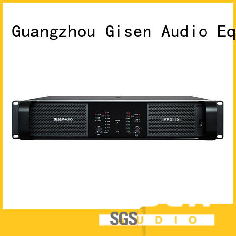 Gisen unbeatable price professional amplifier source now for various occations