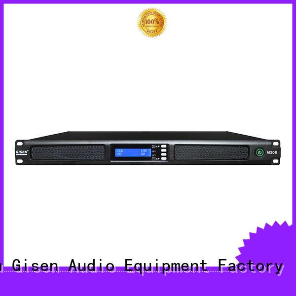 Gisen digital sound amplifier series for entertainment club