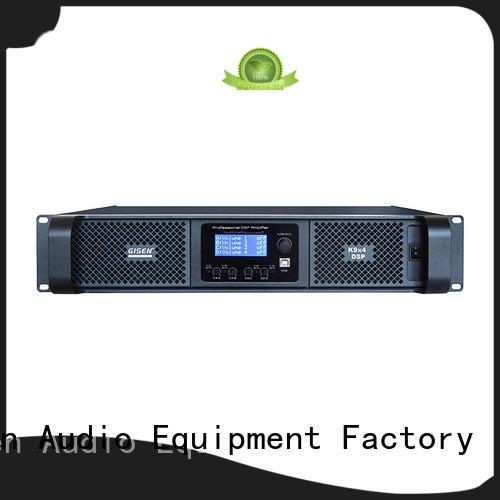 Gisen dsp dsp power amplifier supplier