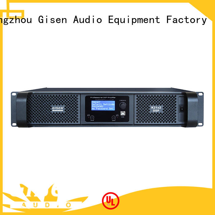 Gisen high quality best power amplifier in the world manufacturer