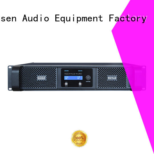 high efficiency class d stereo amplifier 2100wx2 supplier for performance