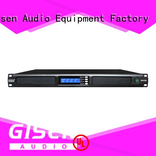 new model 4 channel power amplifier power series for venue
