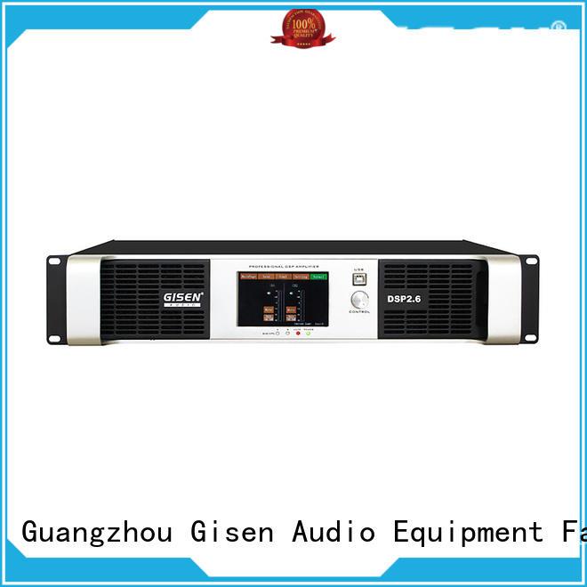 Gisen multiple functions homemade audio amplifier manufacturer for performance