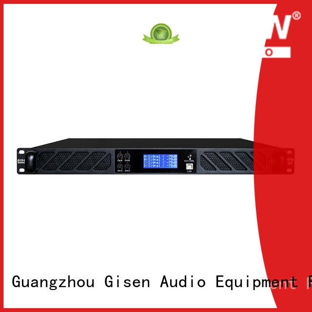 professional dsp power amplifier channel factory for performance