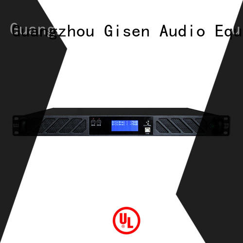 Gisen 2100wx4 studio amplifier manufacturer for stage