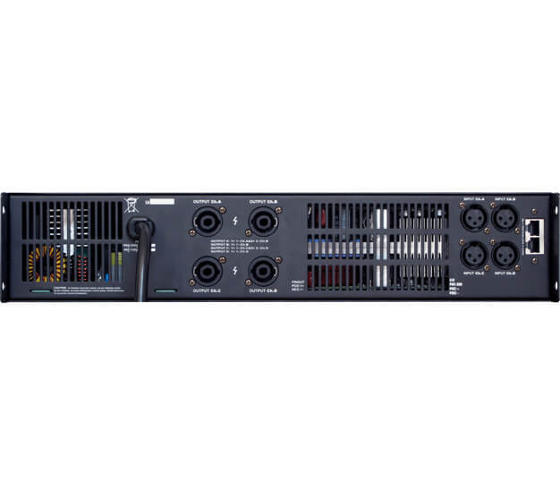 Gisen 2 channel dsp power amplifier manufacturer for venue