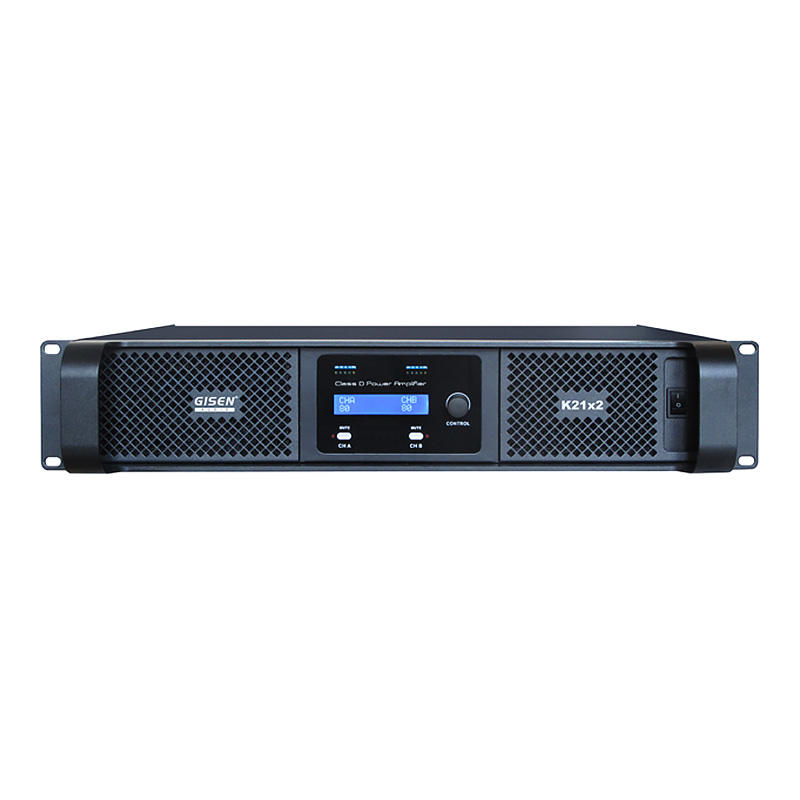 High power amplifier class d full range amplifier 2100WX2@ 8ohm