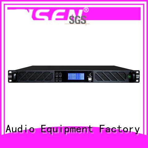 Gisen multiple functions multi channel amplifier manufacturer