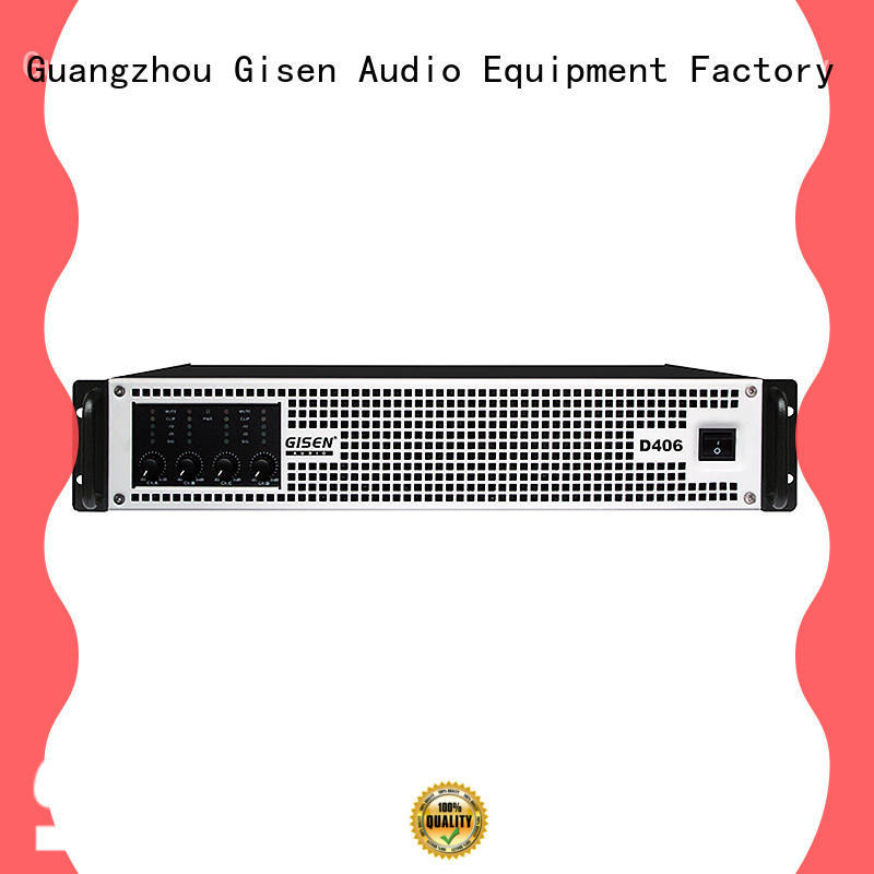 Gisen high efficiency top 10 power amplifiers wholesale for performance