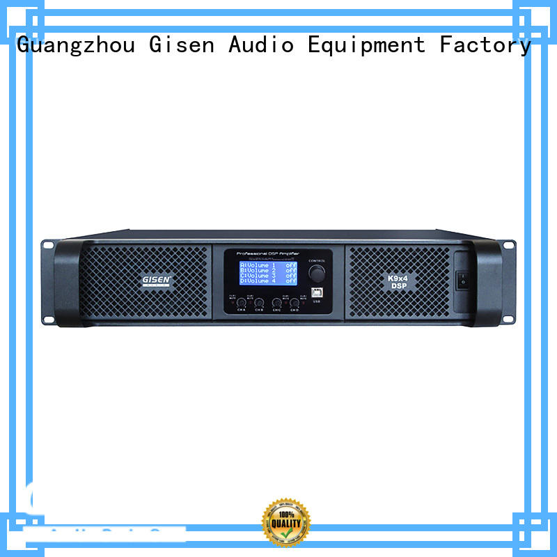 Gisen digital multi channel amplifier supplier for various occations