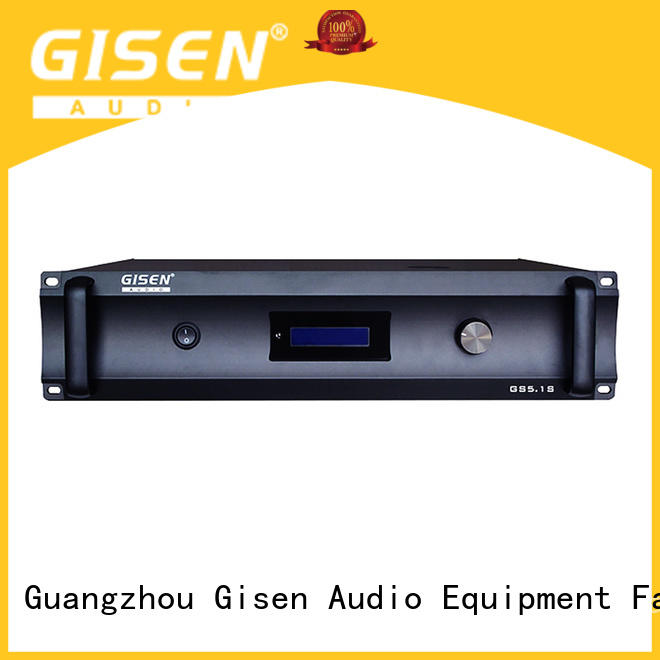Home theatre digital power amplifier