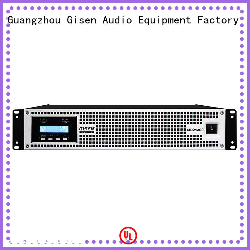 Gisen strict inspection high end stereo amplifiers crazy price for conference