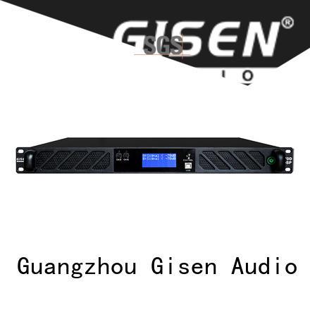 Gisen professional 1u amplifier wholesale