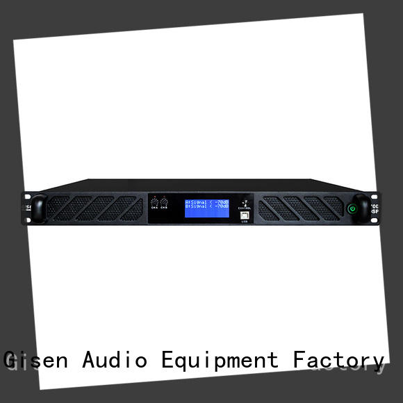 Gisen touch screen dsp amplifier wholesale for various occations