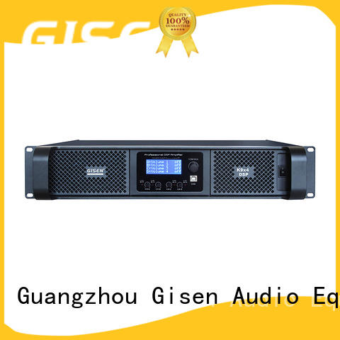 Gisen dsp dsp power amplifier factory for various occations