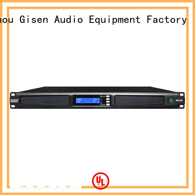 Gisen amplifier digital stereo amplifier supplier for performance