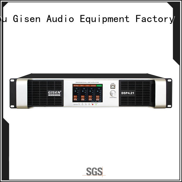 Gisen professional audio amplifier pro factory for stage