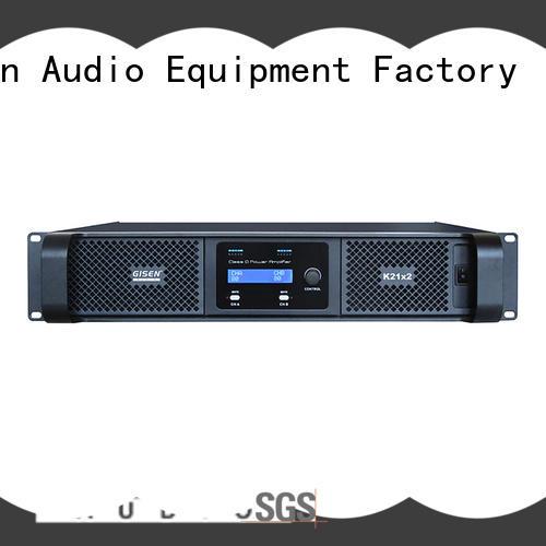 Gisen guangzhou dj amplifier manufacturer for meeting