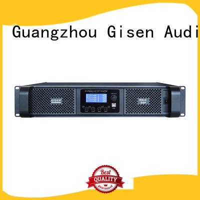 car audio dsp amplifier 2100wx2 for venue Gisen