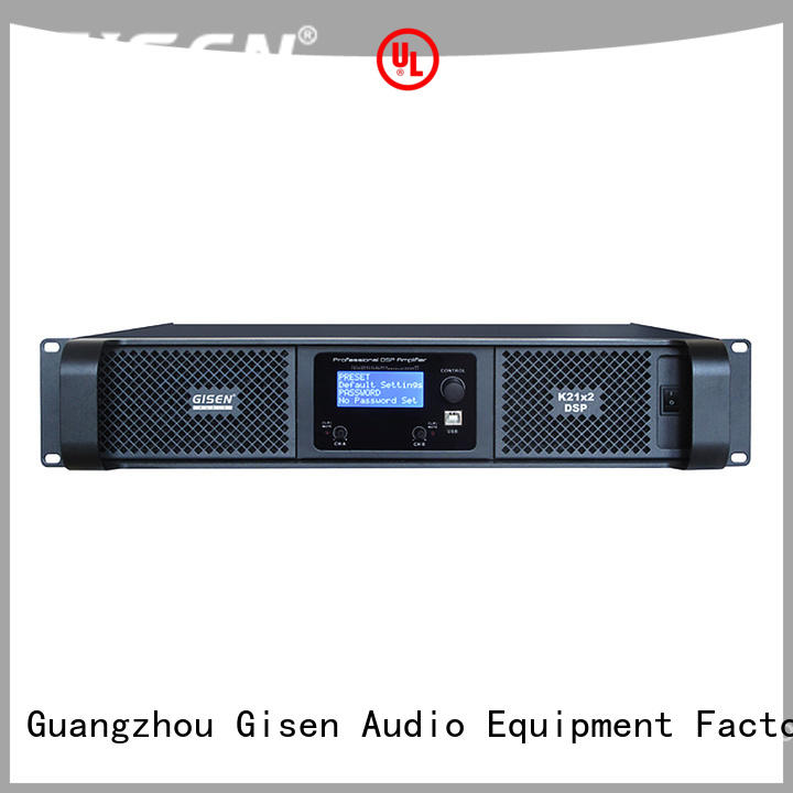 multiple functions amplifier power dsp supplier for stage