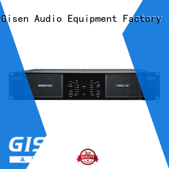 Gisen unbeatable price best power amplifier one-stop service supplier for performance