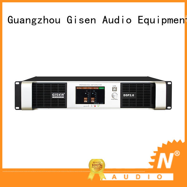 Gisen high quality multi channel amplifier supplier