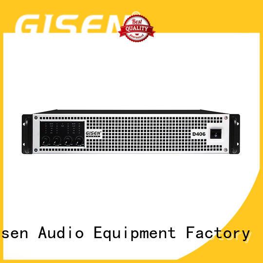 Gisen guangzhou hifi class d amplifier manufacturer for performance