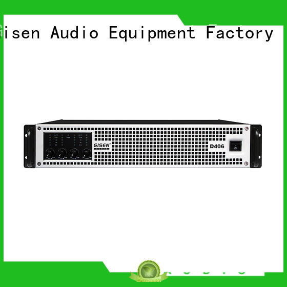 Gisen digital class d digital amplifier fast delivery for meeting