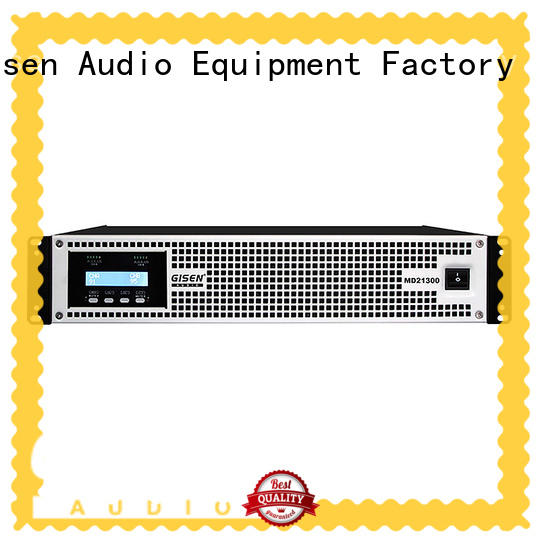 Gisen competitive price pa amplifier sale price for stadium
