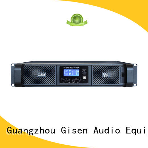 professional slimline amplifier supplier for stage Gisen